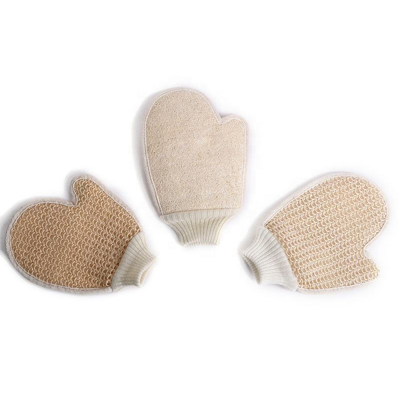 Amazon supplier Hemp Sponge Exfoliating Body Bath glove