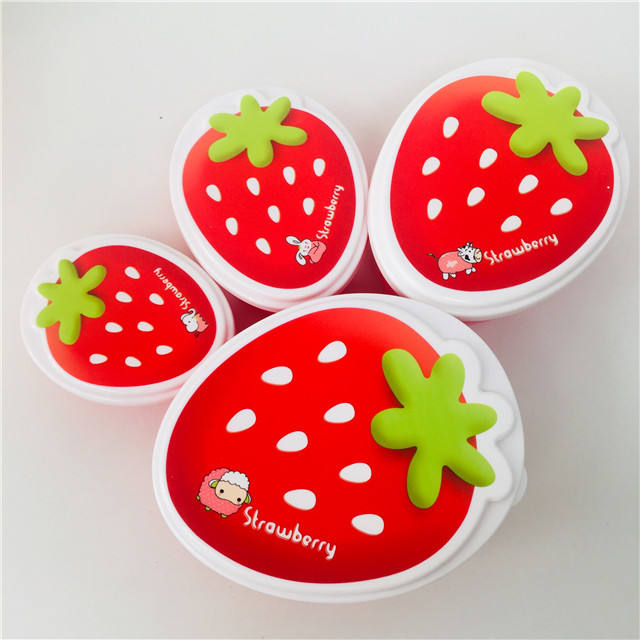 Factory Hot Sale New Design BPA Free Food Fruit Candy Snack Storage Box Set Stackable Portable For Promotion Freezable Container