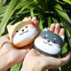 Cute animal dog case lens contact lovely small color eye lens case contact lens case custom container with mirror