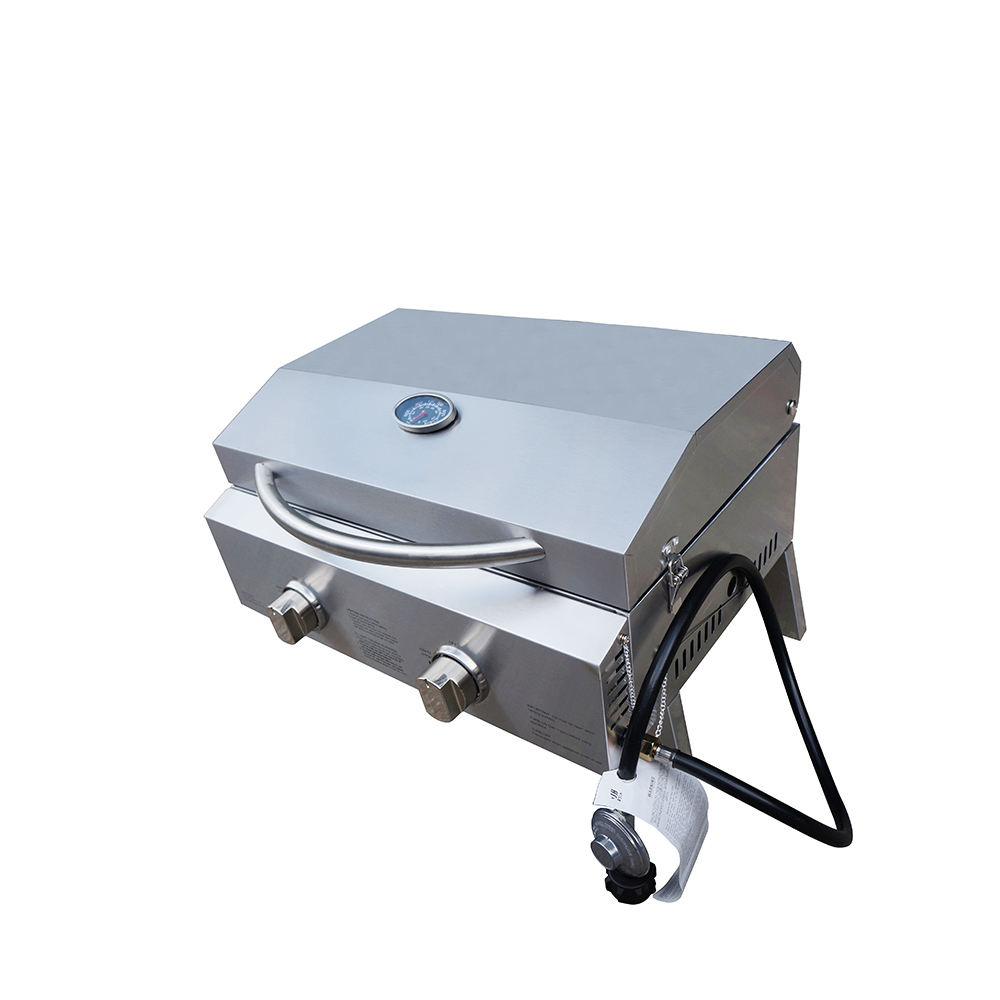 Stainless Steel Portable Table Top BBQ/barbecue Gas Grills for Outdoor Kitchen