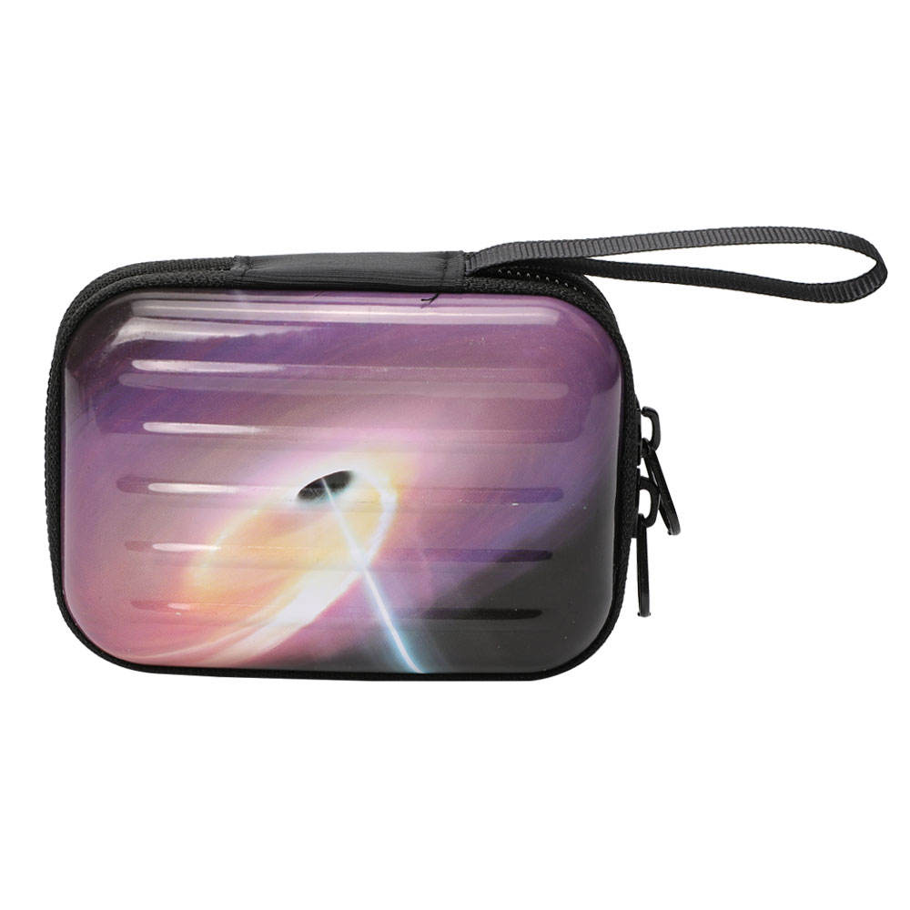 TOPSTHINK Magic Starry sky mini suitcase coin purse Galaxy Black Hole Fixed star small change bag