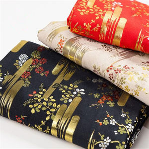 High Quality Metallic Jacquard Brocade Fabric Polyester Fabric for Tang Han Suit from Factory