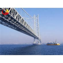 China RPIC prefab steel structure steel cable suspension bridge