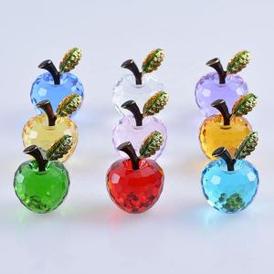 Crystal Apple 40 Mm Valentine Natal Pernikahan Hadiah Indah Favor