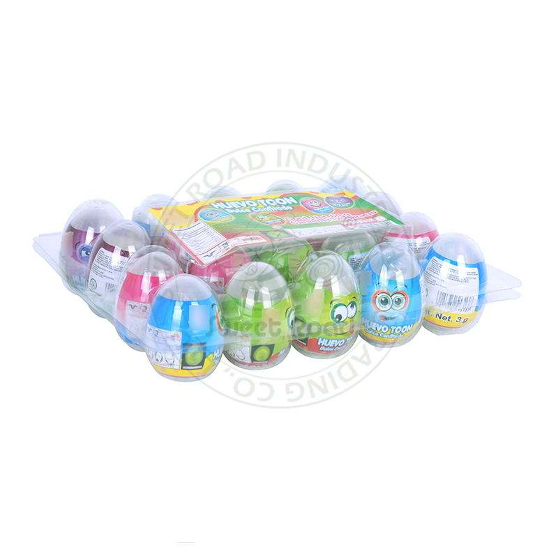 Press Candy Toy Candy Magnet Fluorescent Eggs
