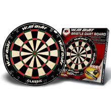 "High quality dart board 18""x1-1/2"" standard round wire classical custom bristle dartboard"