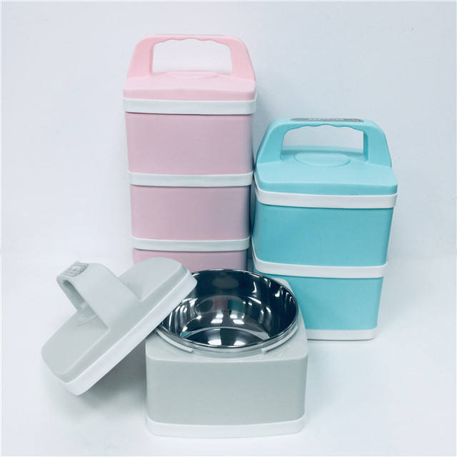 Online Shopping Factory Hot Sales Thermal Insulated Leak Proof Stainless Steel Kitchen Bento Lunch Box For Promotion Multilevel