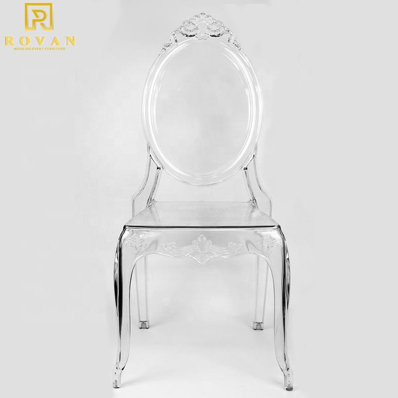 Wholesale Wedding Acrylic Chairs Prince Transparent Chair Dining