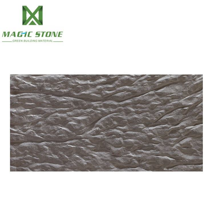 High safe artistic concerto stone lightweight fireproof soft ceramic curved wall tiles