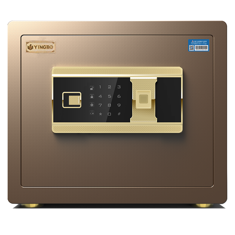 Home/hotel small safe box with fingerprint lock 30#