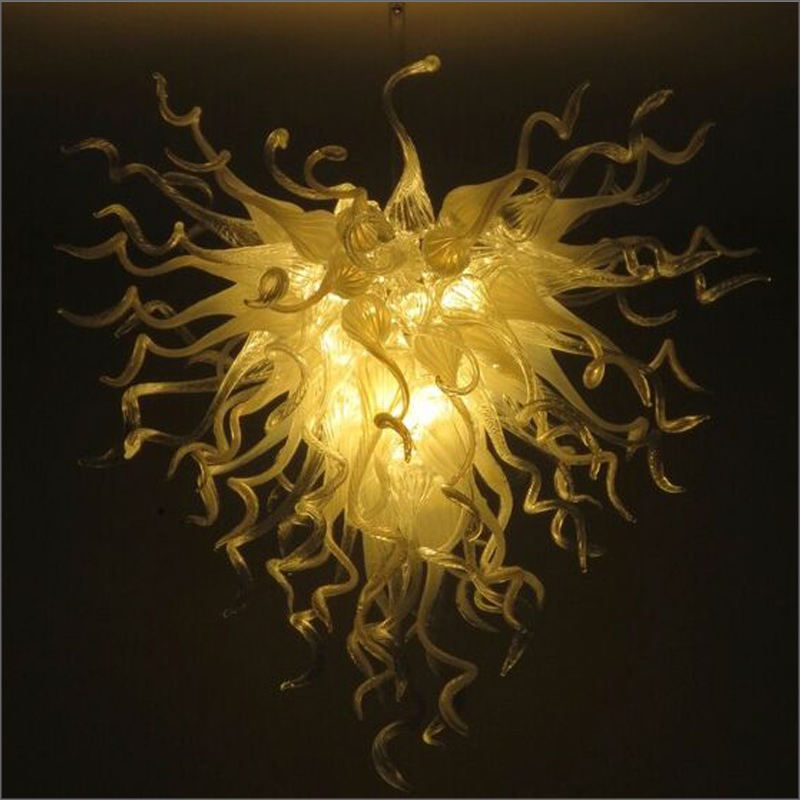 New Arrival Cheap Price Hand Blown Glass Crystal Chandelier Artistic Style Italian Hand Blown Chandelier Murano Glass Designs
