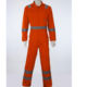100 cotton reflective safety coverall for men