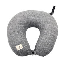 100% Polystyrene Micro Bead Fillings Waist Simple Functional Travel Neck Pillow