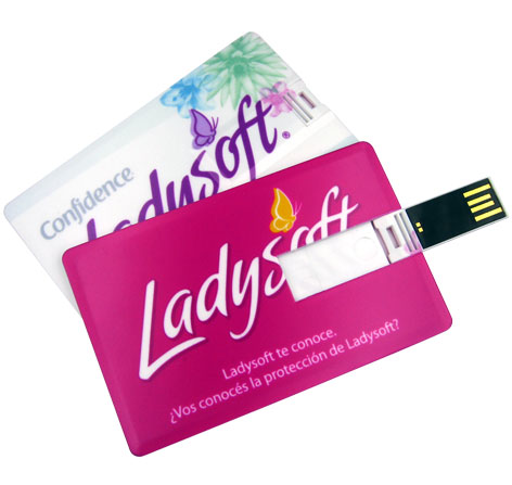 Promotional Card Flash Drive Customized Logo Printing Card USB Stick Cheap Card Pendrive