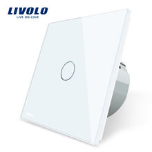 Livolo VL- C701-11 EU Standard 1 Gang 1 Way Touch Screen Smart Wall Automation Switch