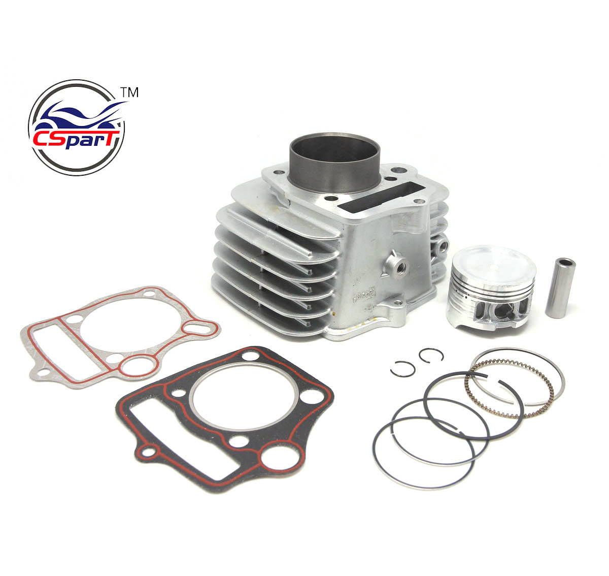 52.4MM 13MM 78MM Cylinder kit For Loncin Skyteam 125CC 1P52FMI Engine Dirt Bike Parts