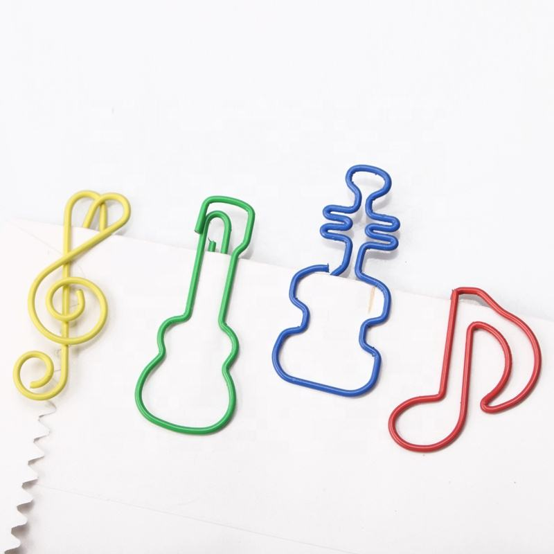 Paper clip manufacturer musical Notes style metal cute paper clips