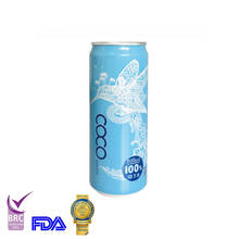 2020 New product 330ml Alu Tinned Fresh Water with BRC,FDA certificate
