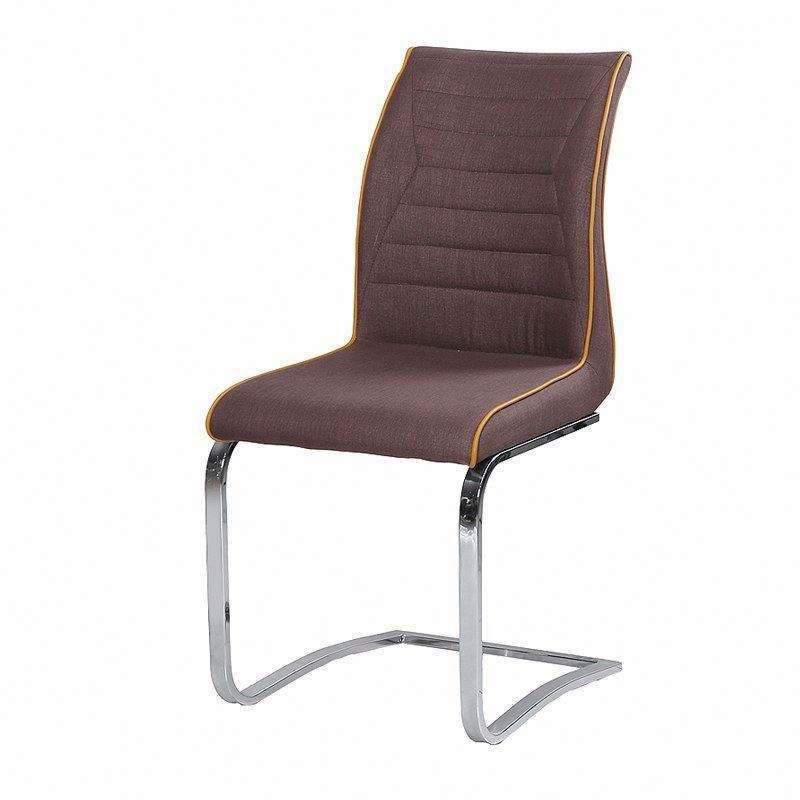 Xinju Haute <span class=keywords><strong>Qualité</strong></span> Et Pas Cher rembourré jambe En Métal dinant la chaise z forme dinant la chaise