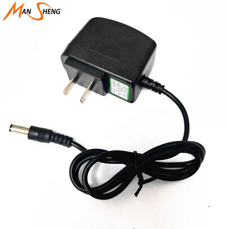 Mansheng US EU UK AU Plug battery charger 4.2V 800mA ac dc travel power supply adapter