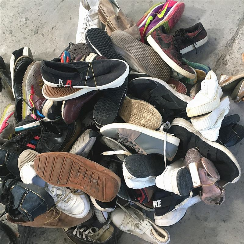 China source good quality used mix shoes export used shoes 25kg bales