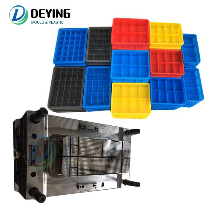Parts sub-materials screws Hardware Tools storage box mould Electronic components plastic box mold