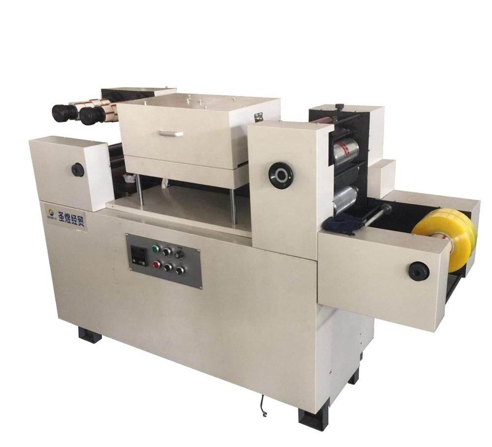 short run small quantity two color adhesive tape printing machine