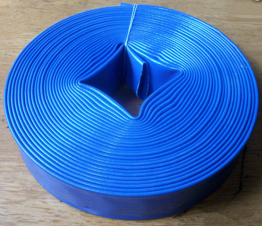 High Pressure 1.5 2 3 4 5 6 8 12 Inch Pvc Soft Flexible Lay Flat Layflat Agriculture Irrigation Discharge Water Hose