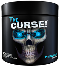 Original Curse Pre-workout Supplement with different flavor to provide pure physical energy, strength and  endurance