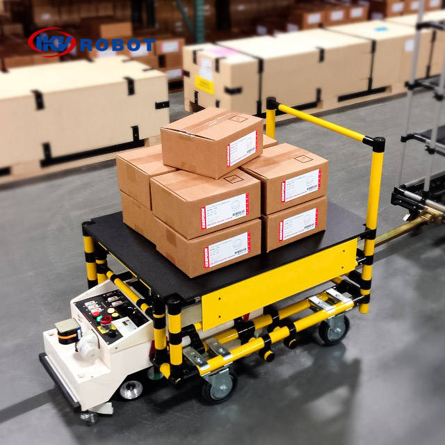 Automatic Guided Vehicle AGV Car Manufacturer for Material Handling Solutions