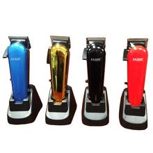 USB Rechargeable Hair Clippers Professional Hair Clippers Barber With Charging Base