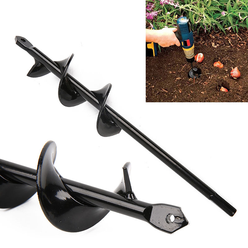 New Home Yard Garden Earth Digging Holes power Tool Drill Bit Farm Planting Auger Digging Spiral Bit For Electric Cordless Drill