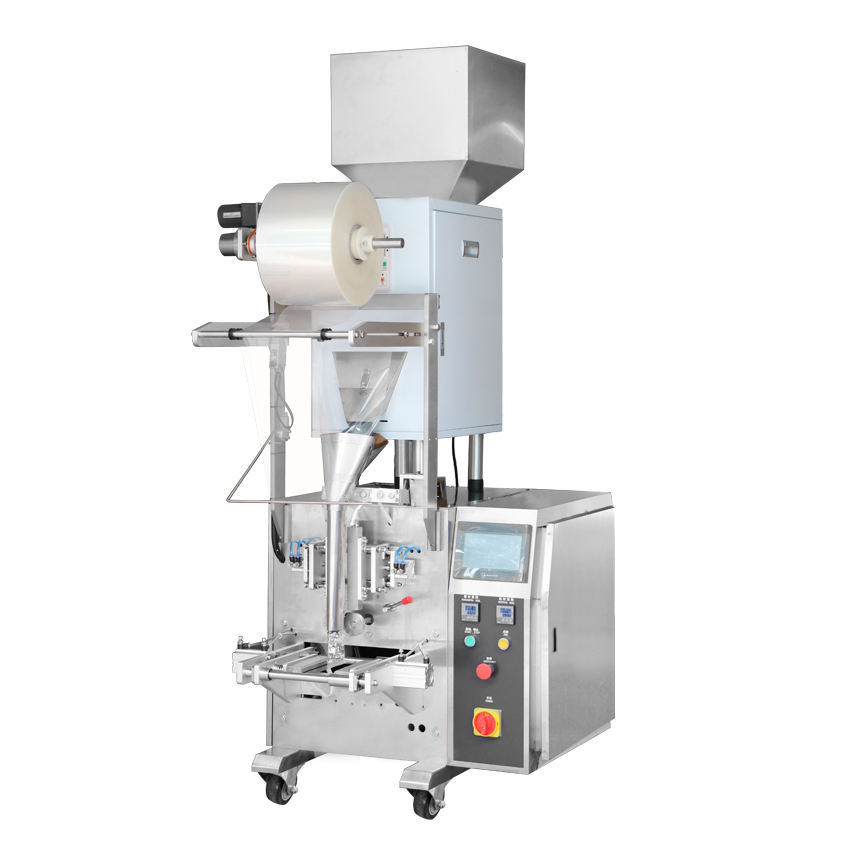 small automatic weighing granules packing machine with single head weigher