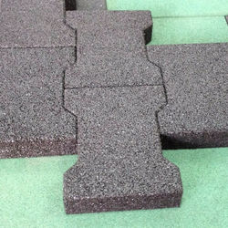 Dog Bone Rubber Pavers
