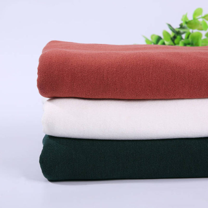 High quality knitted lycra spandex stretch fabric for t-shirt
