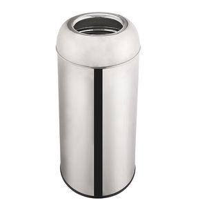 100% nuovo rosa In acciaio inox grandi contenitori spazzatura offerte migliore cucina bidone della spazzatura