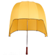 Anti-thunder windproof fiberglass helmet outdoor sport golf umbrella promotion mushroom shape hat dome sunshade rain gear