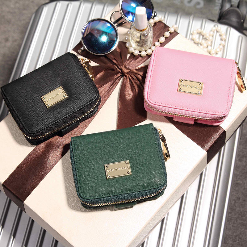 2019 New Mini Girl Wallet Cheap Leather Wallet