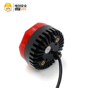 12 V orange clignotant balise stroboscopique lampe rotative