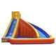 2017 PVC Backyard Inflatable Splash Water Slide with pool