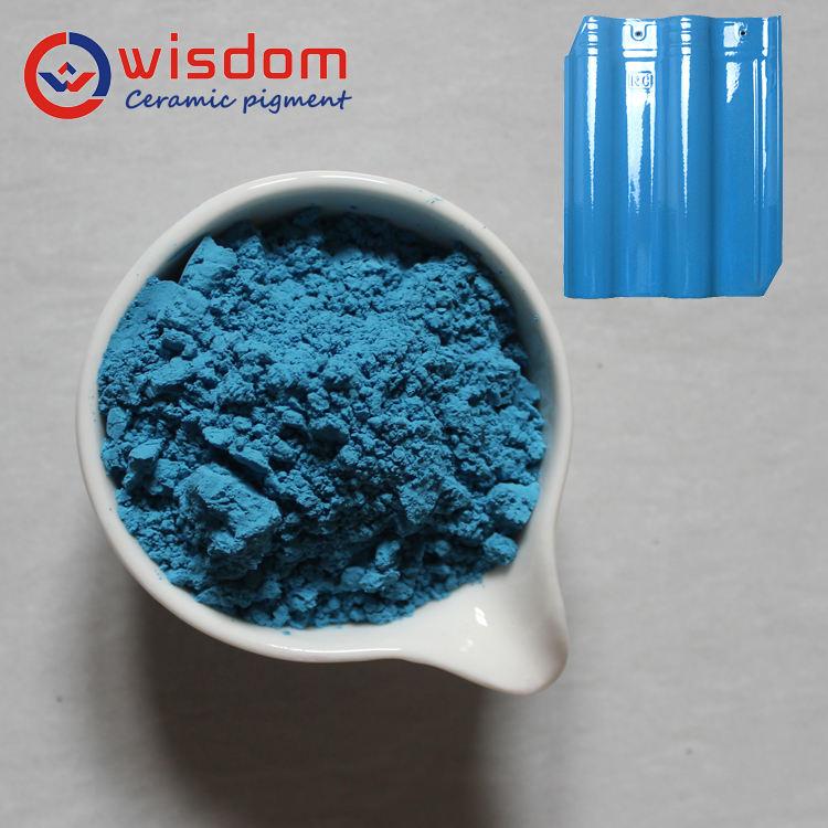 Sır Pigment turkuaz mavi renk baskı mürekkebi Leke, Seramik, Porselen seramik Pigment