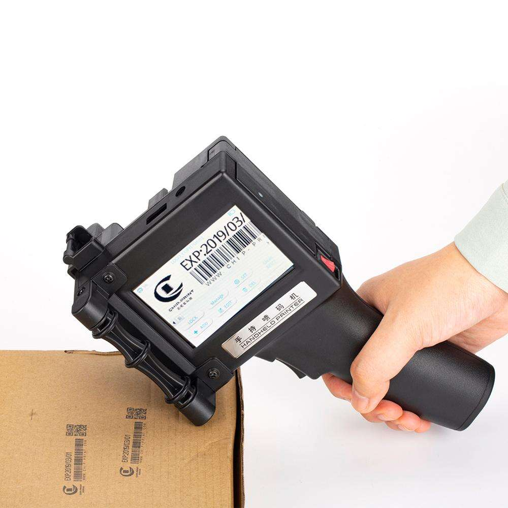 Hot Selling Draagbare Handheld Inkjet <span class=keywords><strong>Printer</strong></span> Voor Plastic Zak, hand Jet <span class=keywords><strong>Printer</strong></span> Productie In China Qr Code Barcode Vervaldatum