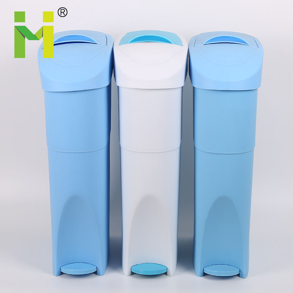china plastic foot pedal ladies bathroom sanitary bins
