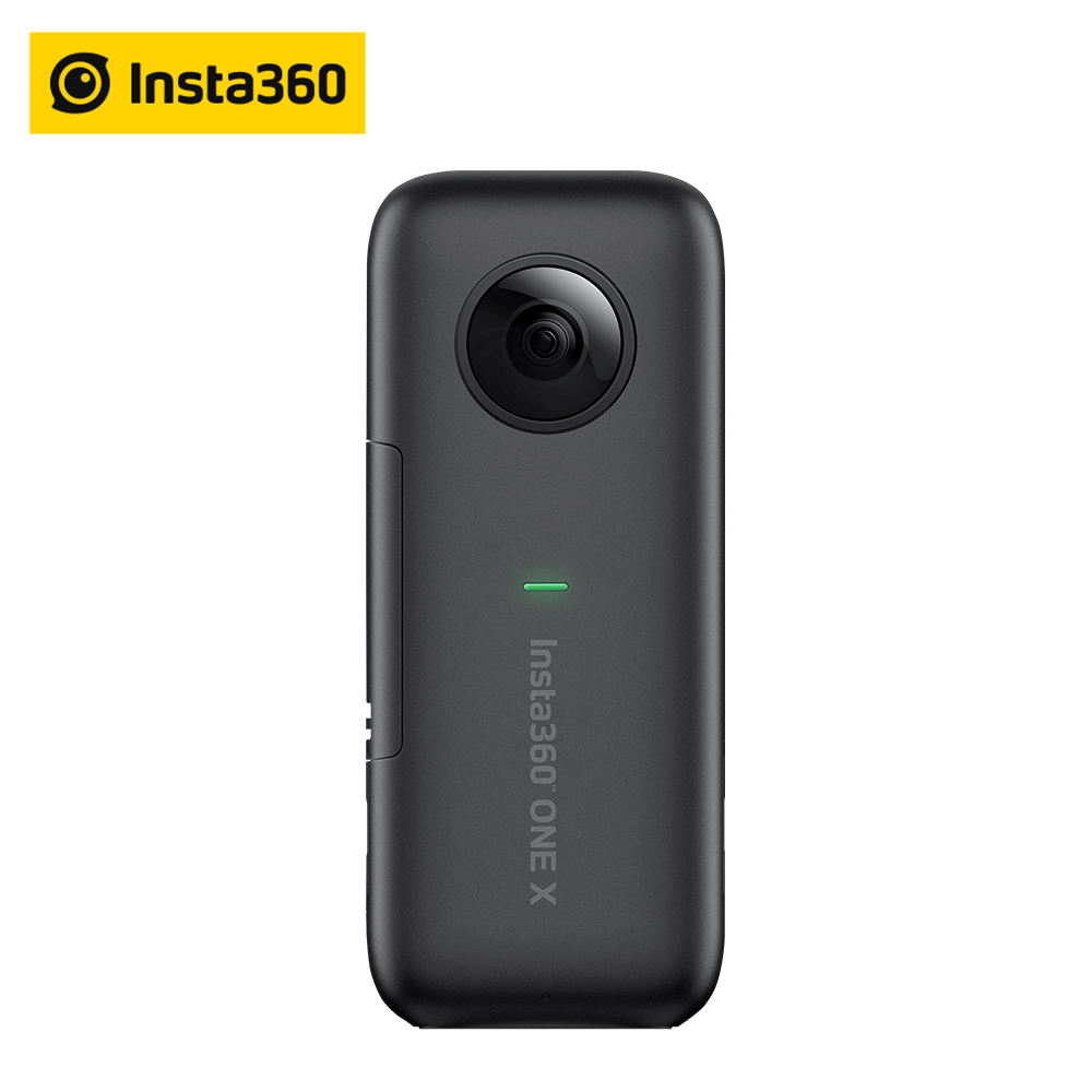 Insta360 one x action camera vr insta 360 panoramic camera for iphone android 5.7k video 18mp ph oto invisible selfie stick