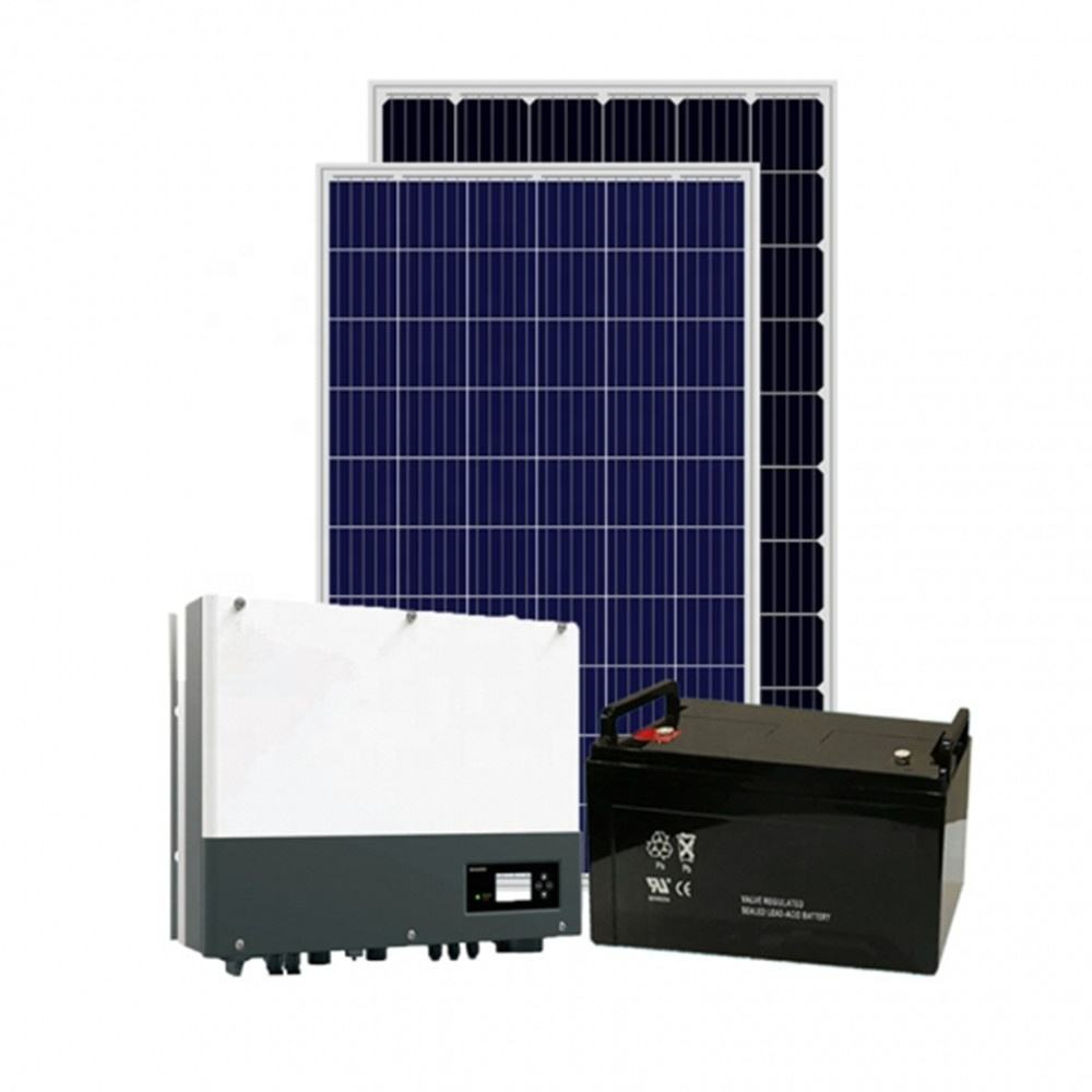 DS New Energy 5kw off grid solar power system for home use