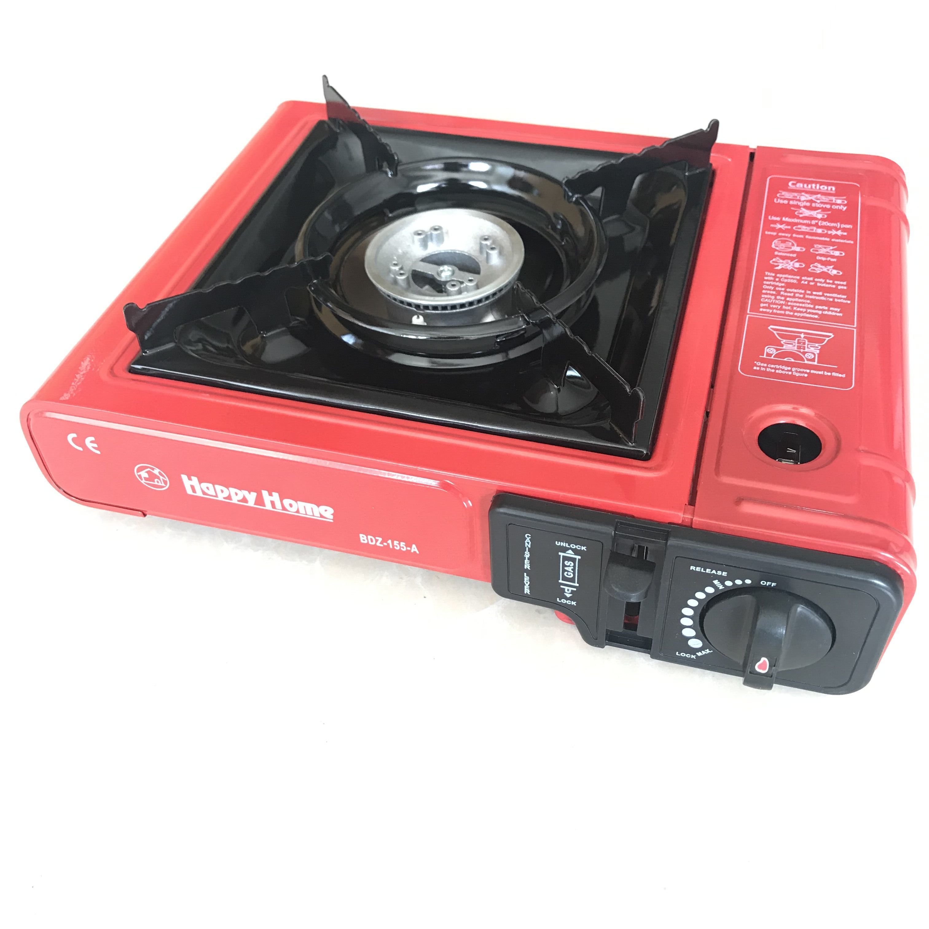 Happy Home Brands BDZ-155 Factory Camping Butane Portable Gas Stove