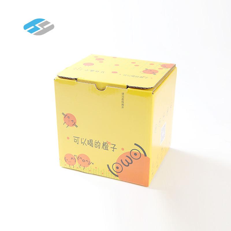 Оптовая Продажа multi-слойный гофрированный картон сухие фрукты подарочная упаковка картонная коробка для фруктов