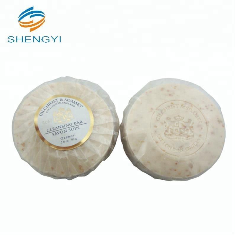 Mini customised organic medimix soap products for hotels