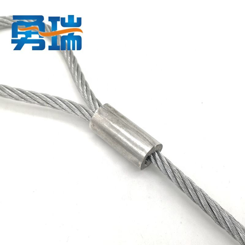 Steel Soft Wire Rope Lifting Sling Galvanized