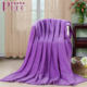 B-011 New Products Super Soft Print Coral Fleece Cashmere Throw Tail Blanket